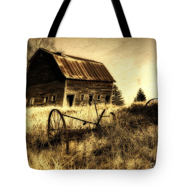 Great Grandfather's Barn II Tote Bag