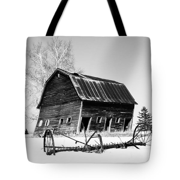 Great Grandfather's Barn Tote Bag