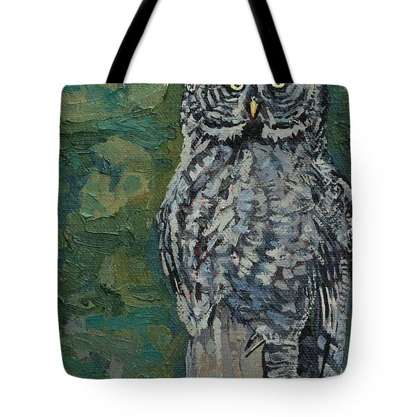 Great Gray Tote Bag by Phil Chadwick