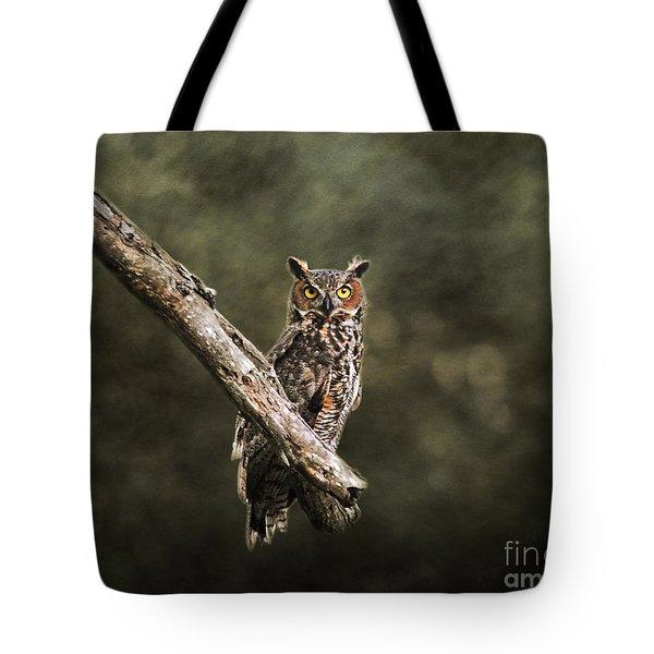 Great Horned Owl I Tote Bag by Jai Johnson