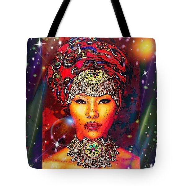 Great Lady Malkia Tote Bag