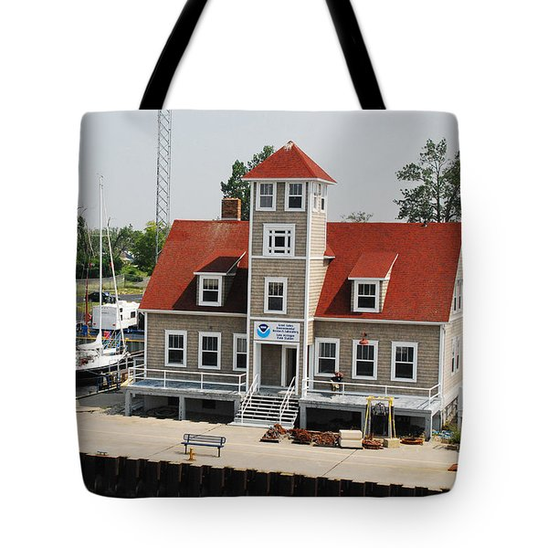 Great Lakes Environmental Research Lab - Muskegon Tote Bag
