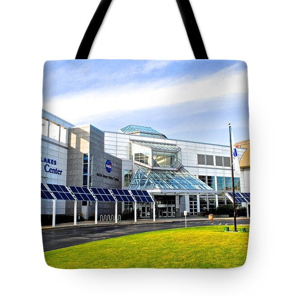Great Lakes Science Center Tote Bag by Frozen in Time Fine Art Photography