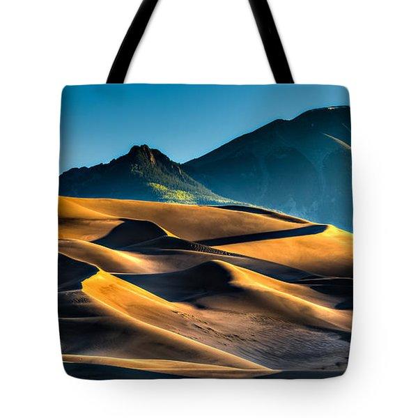 Great Sand Dunes At Dawn Tote Bag