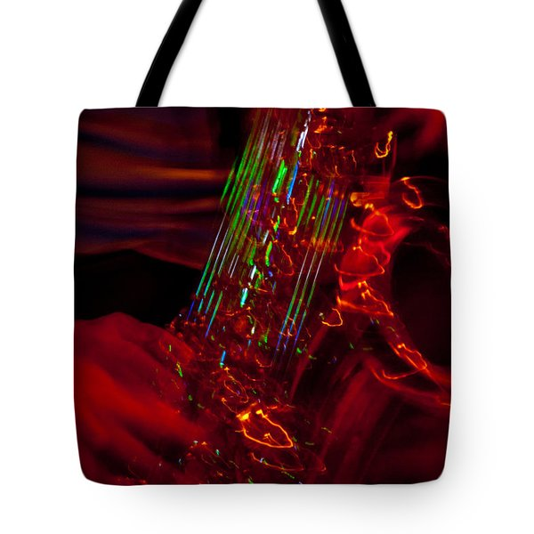 Tote Bag featuring the photograph Great Sax by Alex Lapidus