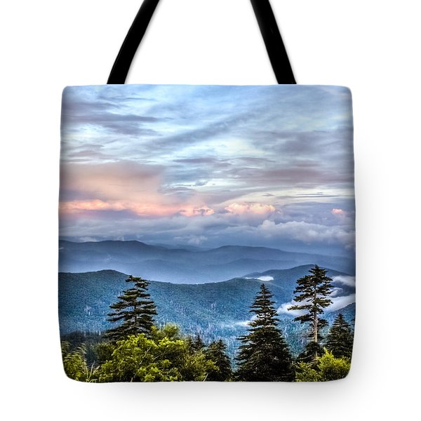 Tote Bag featuring the photograph Great Smoky Mountains by Rob Sellers