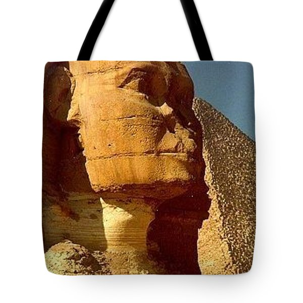 Tote Bag featuring the photograph Great Sphinx Of Giza by Travel Pics