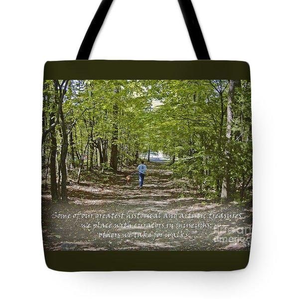 Great Treasures Tote Bag by Sandra Clark