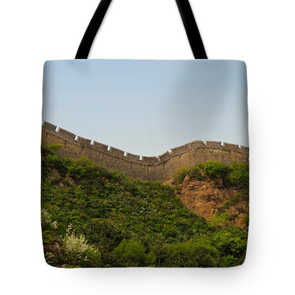 Great Wall Of China, Jinshangling Tote Bag
