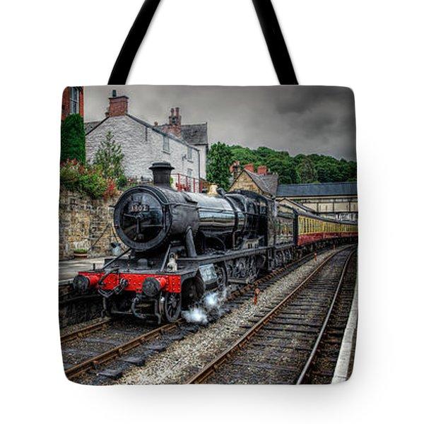 Great Western Locomotive Tote Bag by Adrian Evans