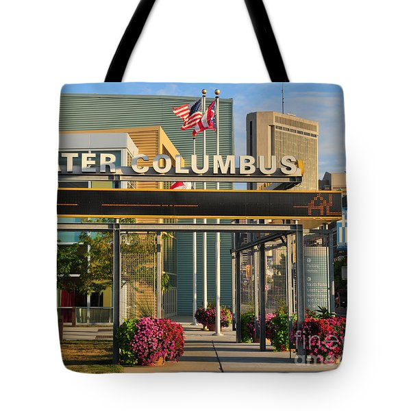 D8l-245 Greater Columbus Convention Center Photo Tote Bag