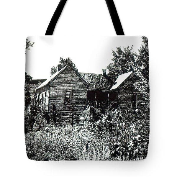 Greatgrandmother's House Tote Bag