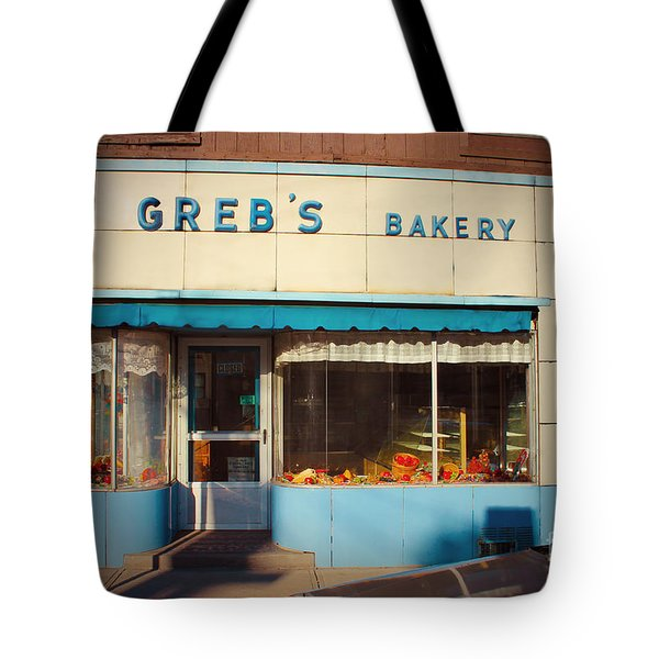 Greb's Bakery Pittsburgh Tote Bag by Jim Zahniser