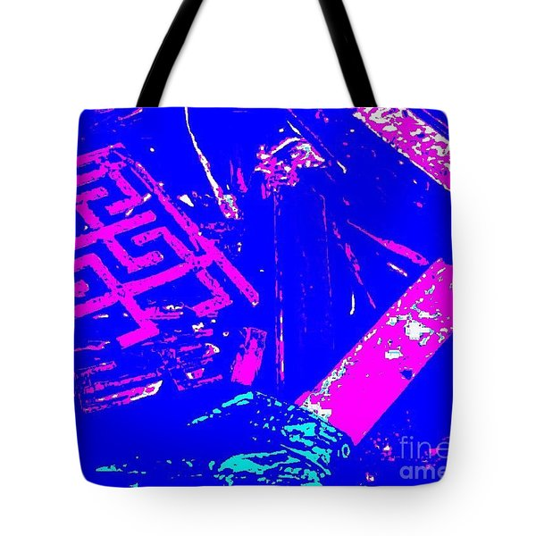 Greco-celtic Relic Tote Bag by Peter Gumaer Ogden