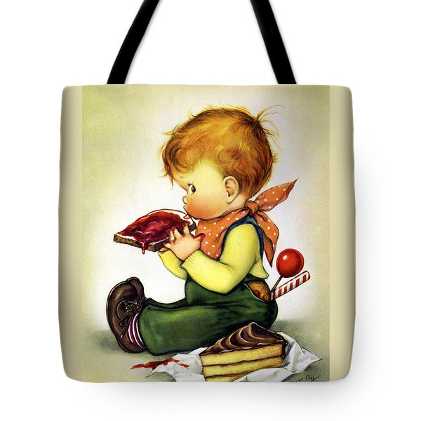 Greedy Petey Tote Bag