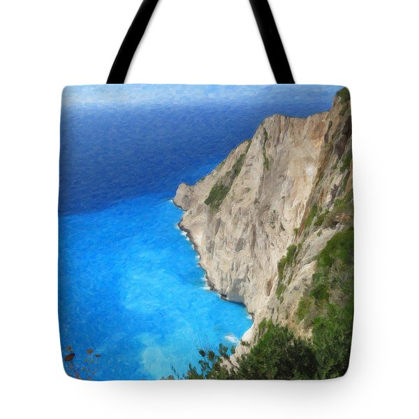 Greek Coast Grk4188 Tote Bag