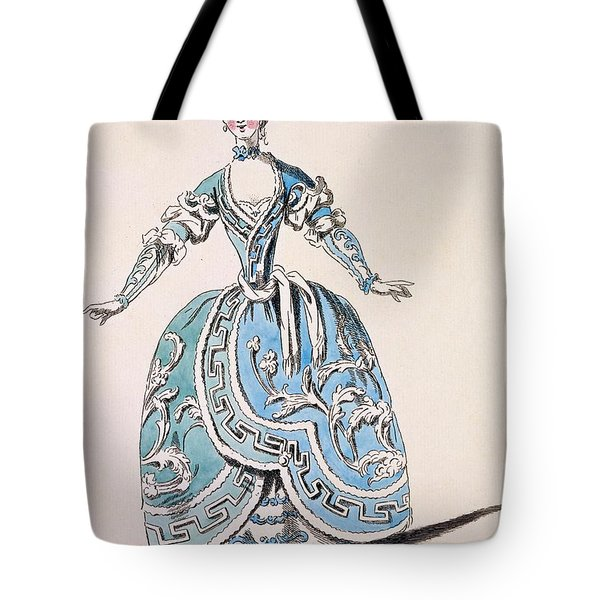 Greek Costume For The Chorus Tote Bag