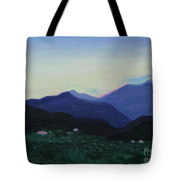 Greek Countryside Tote Bag