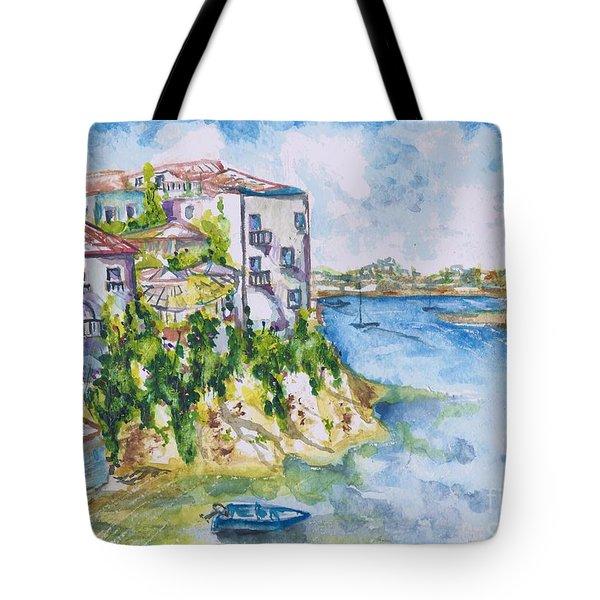 Greek Playground  Tote Bag