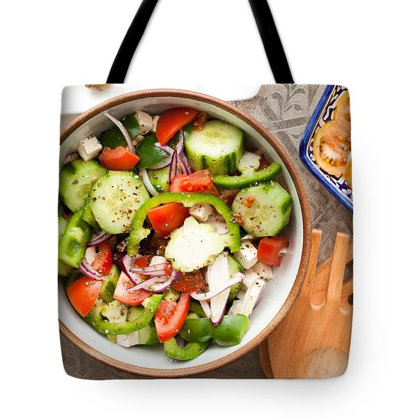 Greek Salad Tote Bag