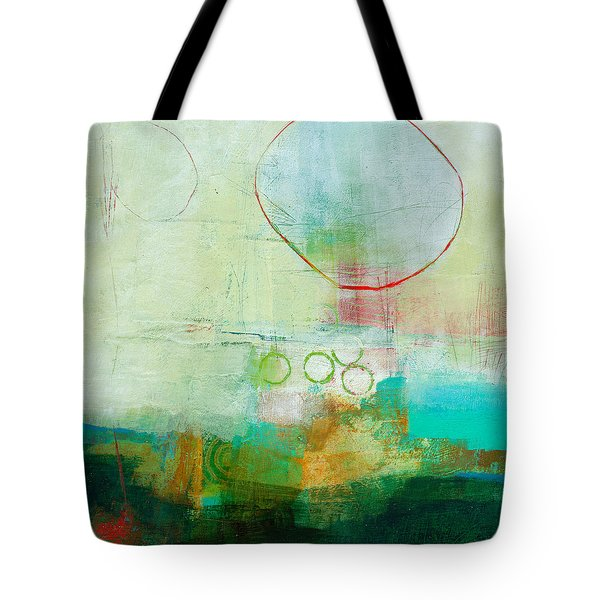 Green And Red 6 Tote Bag by Jane Davies