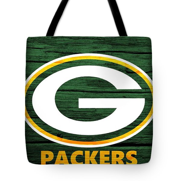 Green Bay Packers Barn Door Tote Bag