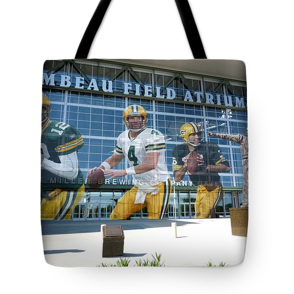 Green Bay Packers Lambeau Field Tote Bag