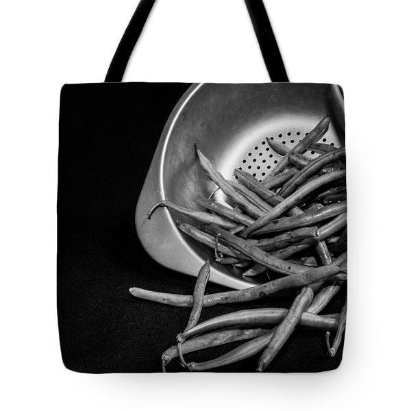 Green Beans Tote Bag by Lauri Novak