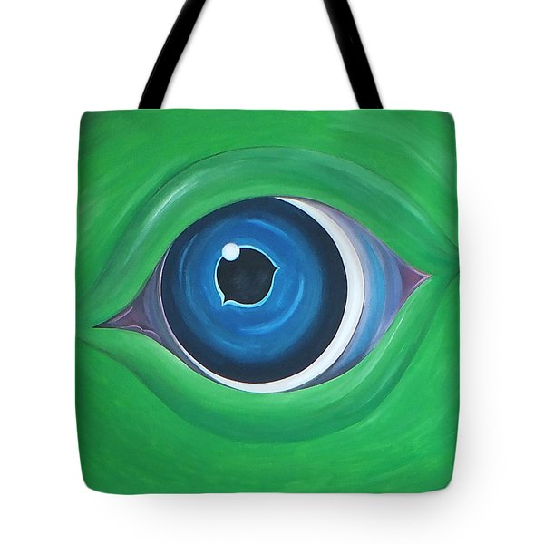 Green Beast Tote Bag by Sven Fischer