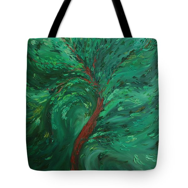 Green Bliss Tote Bag