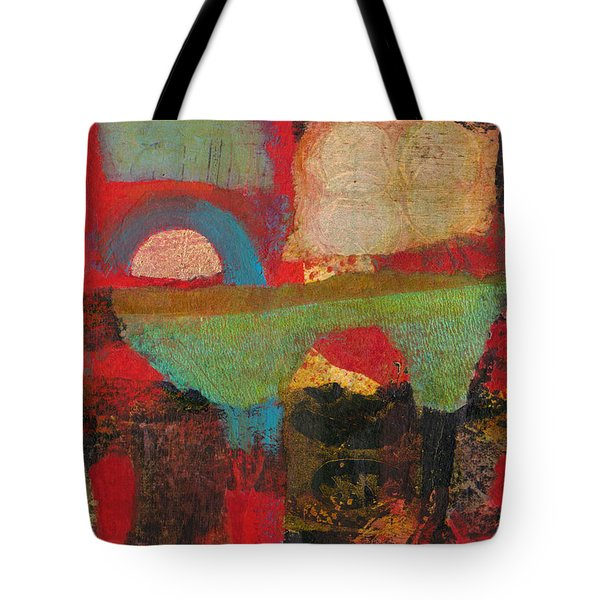 Green Bridge Tote Bag by Catherine Redmayne