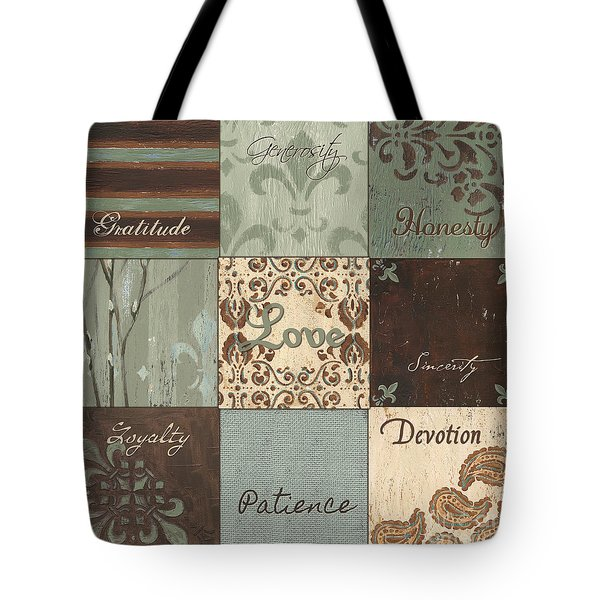 Green Brown Wtlb 1 Tote Bag