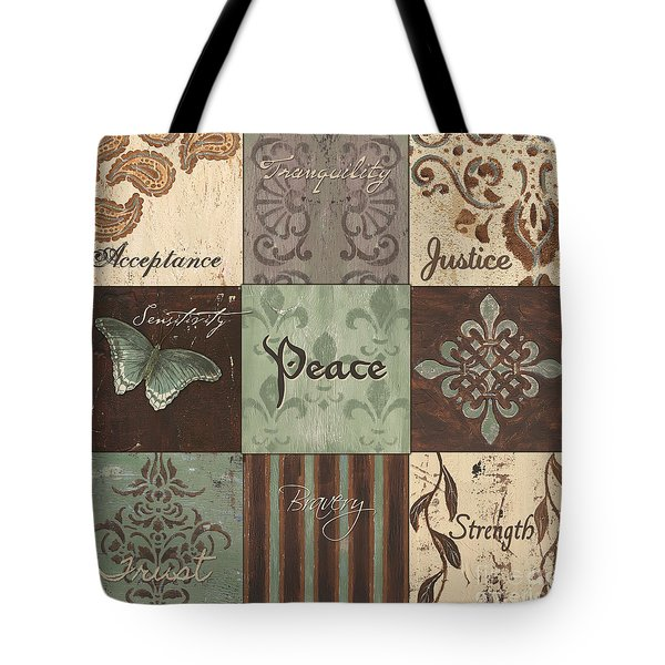 Green Brown Wtlb 2 Tote Bag