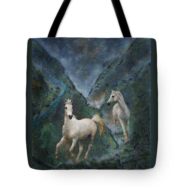 Green Canyon Run Tote Bag