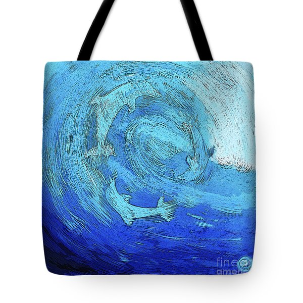 Green Dolphin Street Tote Bag