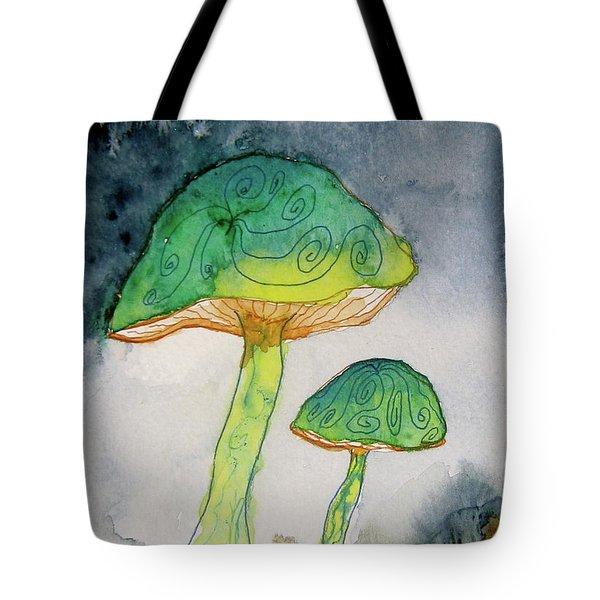 Green Dreams Tote Bag by Beverley Harper Tinsley