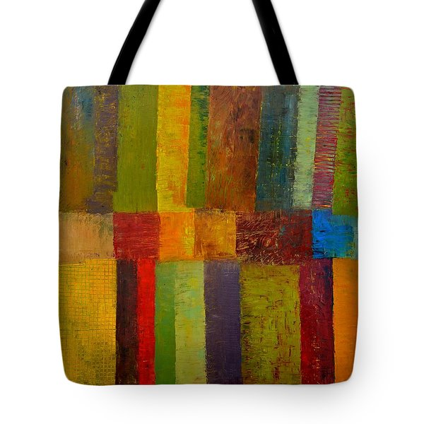 Green Eggs And Ham Tote Bag by Michelle Calkins