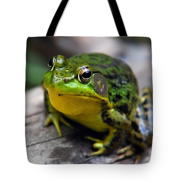 Green Envy Tote Bag by Christina Rollo