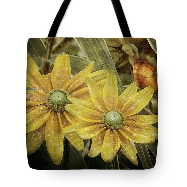 Tote Bag featuring the photograph Green Eyed Susie by Barbara Orenya