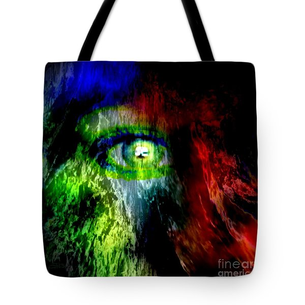 Green Eyed Tote Bag