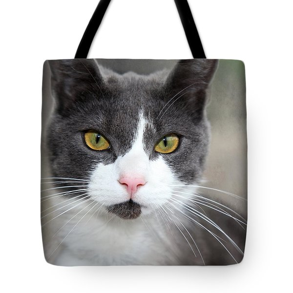 Tote Bag featuring the photograph Green Eyes by Annie Snel