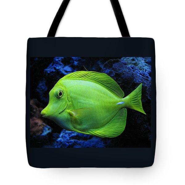 Green Fish Tote Bag
