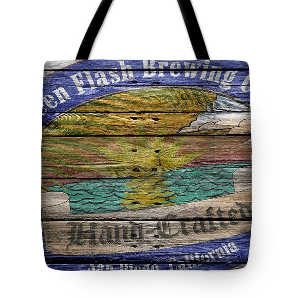 Green Flash Brewing Tote Bag