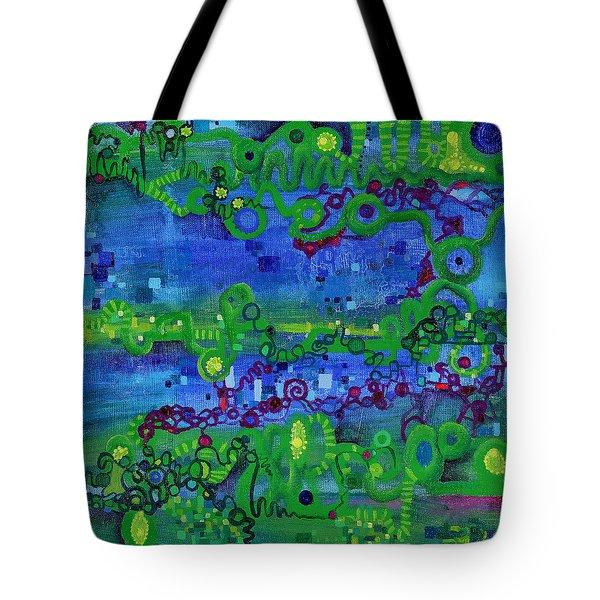 Green Functions Tote Bag by Regina Valluzzi