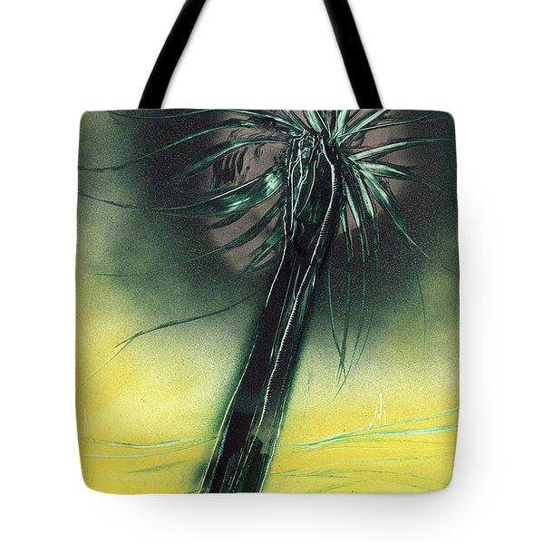 Tote Bag featuring the painting Green Giant by Jason Girard