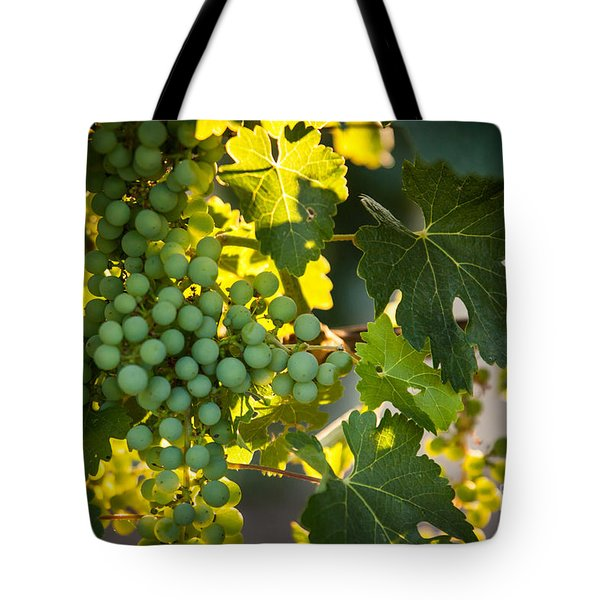 Green Grapes Tote Bag