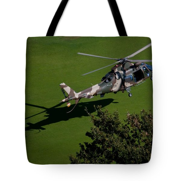 Green Grass Landing  Tote Bag by Paul Job