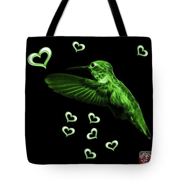 Green Hummingbird - 2055 F Tote Bag by James Ahn