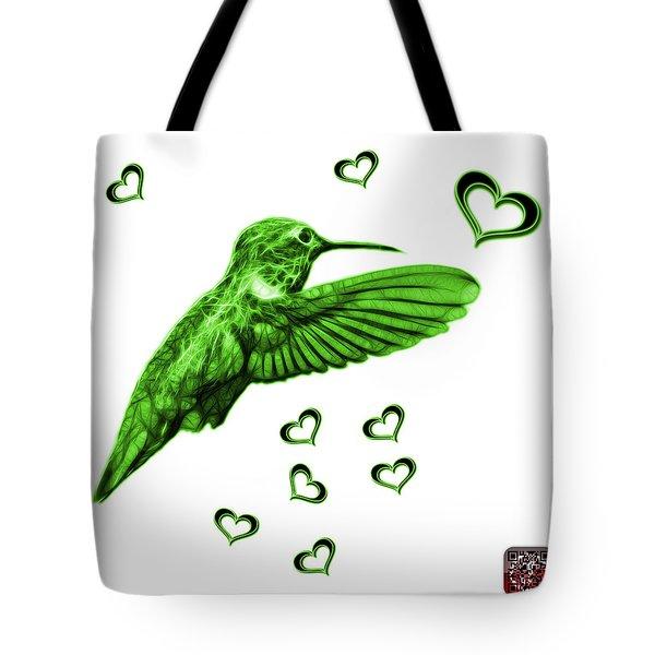 Green Hummingbird - 2055 F S M Tote Bag by James Ahn