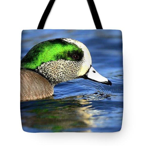 Green Illumination Tote Bag